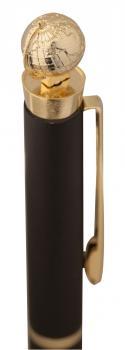 Ручка шариковая Globe Golden Top - фото